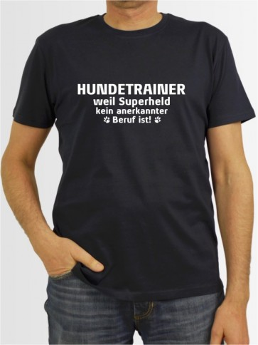 """Hundetrainer weil"" Herren T-Shirt"
