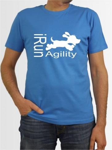 """""""I run Agility"""" Herren T-Shirt"""