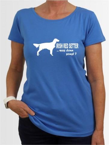 """Irish Red Setter 7"" Damen T-Shirt"