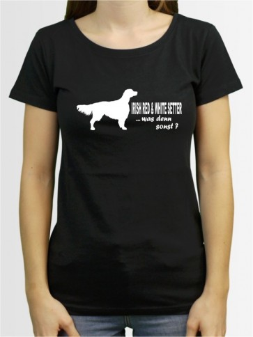 """Irish Red & White Setter 7"" Damen T-Shirt"