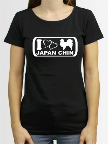 """""""Japan Chin 6"""" Damen T-Shirt"""