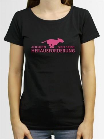 """""""Jogger sind keine Herausforderung"""" Damen T-Shirt"""