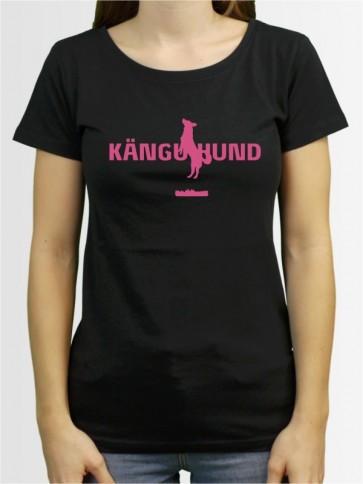 """Känguhund"" Damen T-Shirt"