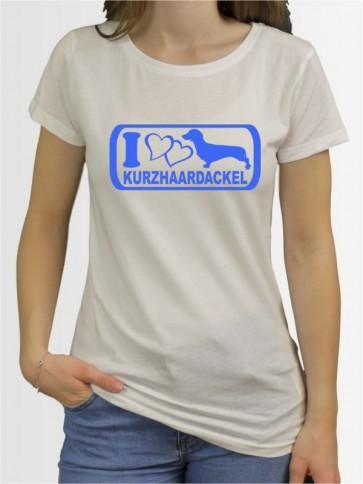 """""""Kurzhaardackel 6"""" Damen T-Shirt"""