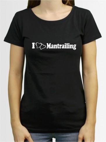 """Mantrailing 1"" Damen T-Shirt"