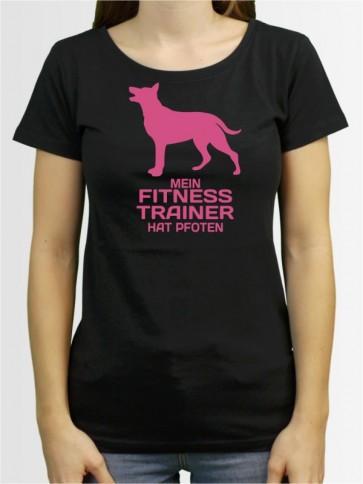 """""""Mein Fitness Trainer"""" Damen T-Shirt"""