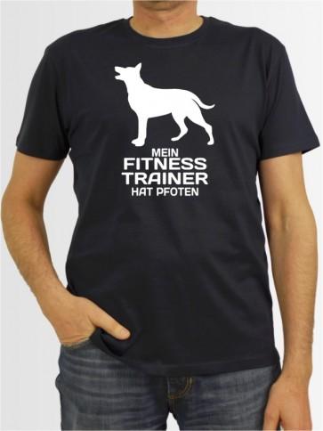 """Mein Fitness Trainer"" Herren T-Shirt"