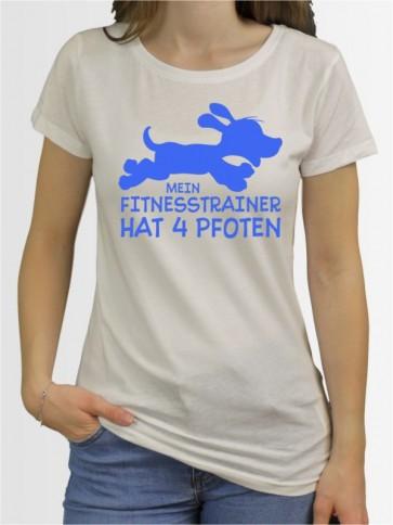 """Mein Fitnesstrainer"" Damen T-Shirt"