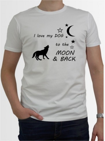 """Moon & Back"" Herren T-Shirt"