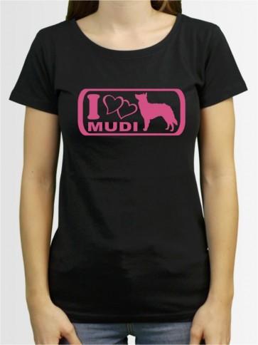 """Mudi 6"" Damen T-Shirt"