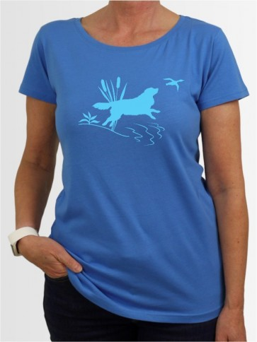 """Nova Scotia Duck Tolling Retriever 36"" Damen T-Shirt"