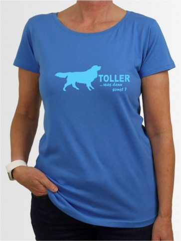 """Nova Scotia Duck Tolling Retriever 7"" Damen T-Shirt"