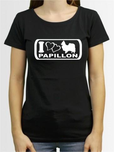 """""""Papillon 6"""" Damen T-Shirt"""