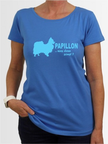 """""""Papillon 7"""" Damen T-Shirt"""
