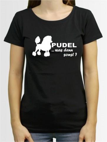 """""""Pudel 7a"""" Damen T-Shirt"""