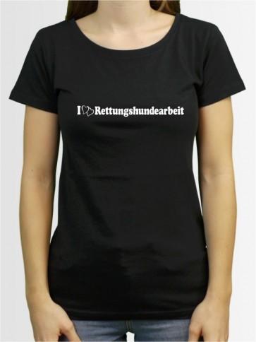 """""""Rettungshundearbeit 1"""" Damen T-Shirt"""