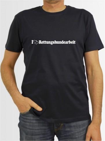 """Rettungshundearbeit 1"" Herren T-Shirt"