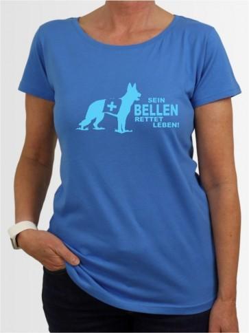 """""""Rettungshundearbeit 9"""" Damen T-Shirt"""