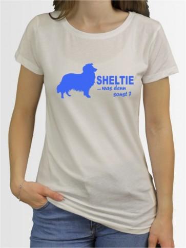 """""""Sheltie 7"""" Damen T-Shirt"""