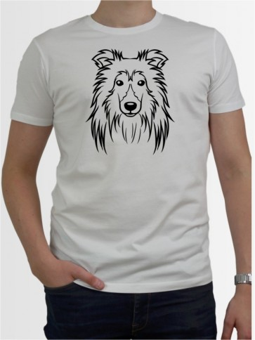 """Sheltie Comic"" Herren T-Shirt"