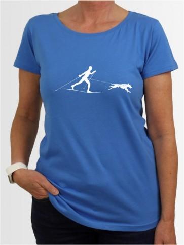"""""""Skijöring 1"""" Damen T-Shirt"""