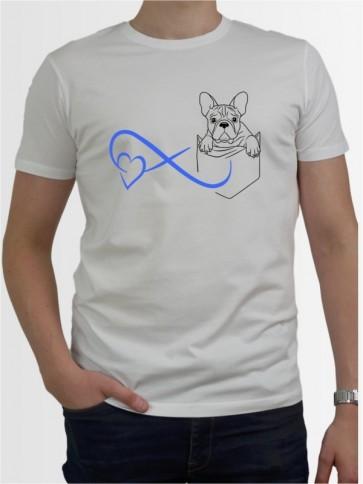 Herren-Shirt mit Französische Bulldogge Hunde-Motiv von AchDuDickerHund
