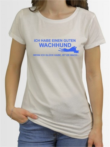 """""""Wachhund"""" Damen T-Shirt"""