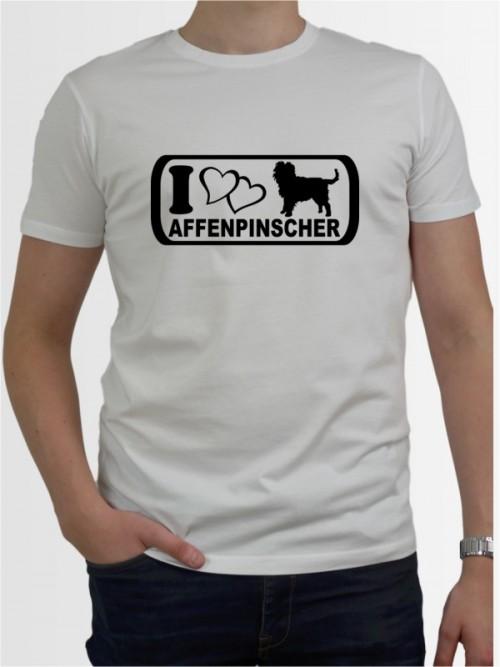 """""""Affenpinscher 6"""" Herren T-Shirt"""