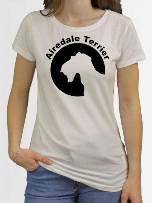 """""""Airedale Terrier 44"""" Damen T-Shirt"""