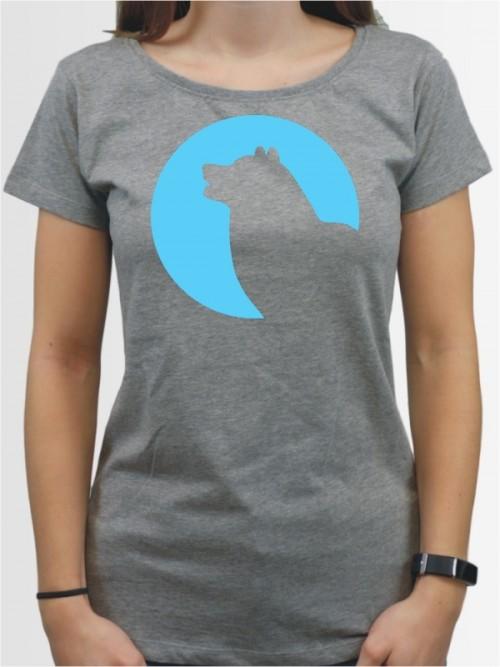 """""""Alaskan Malamute 45"""" Damen T-Shirt"""