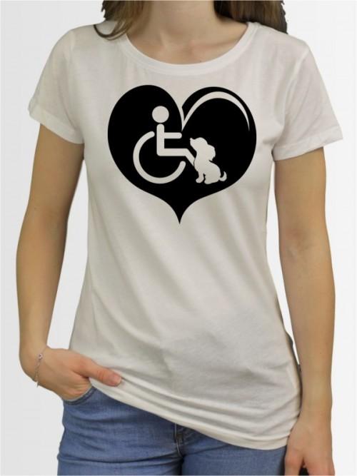 """""""Assistenzhund 5"""" Damen T-Shirt"""