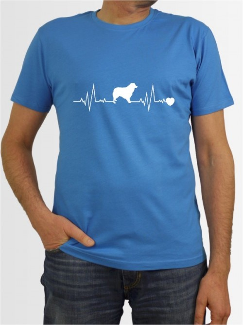 """Australian Shepherd 41"" Herren T-Shirt"