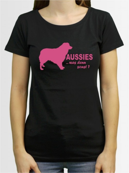 """""""Australian Shepherd 7"""" Damen T-Shirt"""