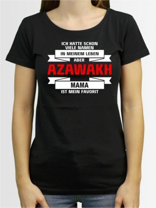 """Azawakh Mama"" Damen T-Shirt"