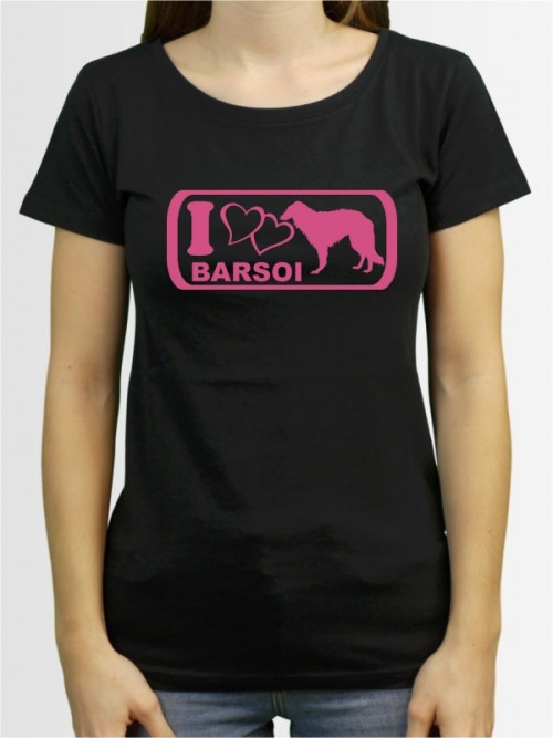 """Barsoi 6"" Damen T-Shirt"