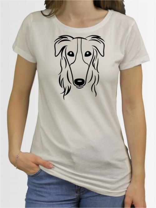 """Barsoi Comic"" Damen T-Shirt"