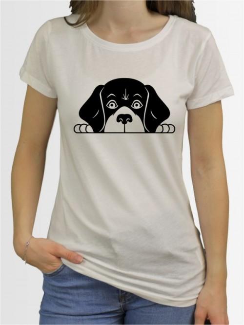 """Beagle Comic 2"" Damen T-Shirt"