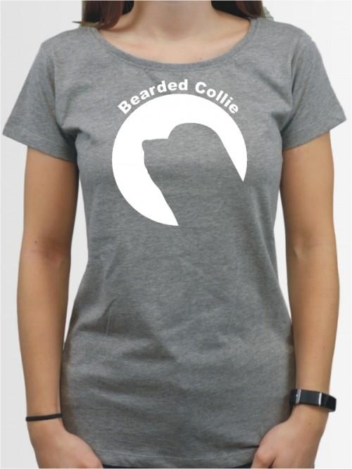 """""""Bearded Collie 44"""" Damen T-Shirt"""