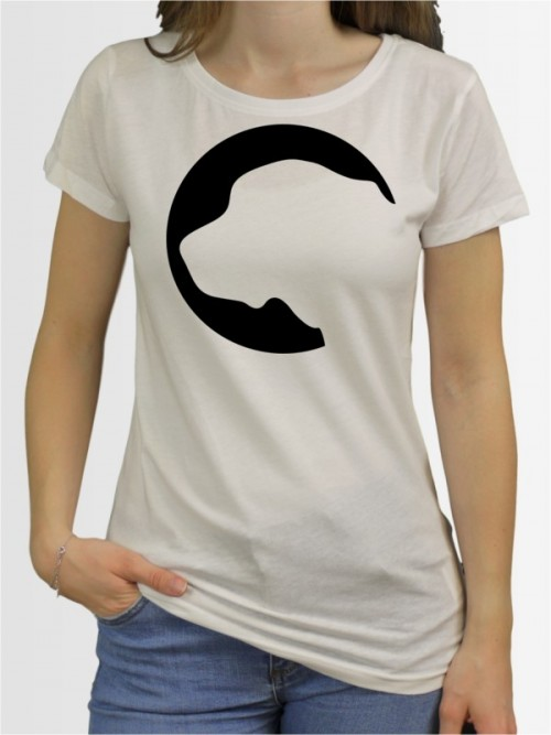 """""""Bernhardiner 45"""" Damen T-Shirt"""