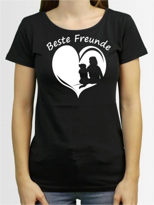 """""""Beste Freunde Frau"""" Damen T-Shirt"""