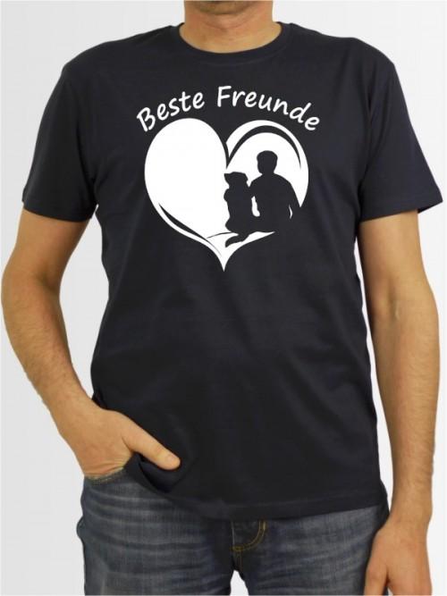 """""""Beste Freunde Mann"""" Herren T-Shirt"""