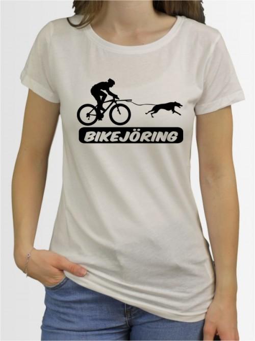 """""""Bikejöring 5"""" Damen T-Shirt"""
