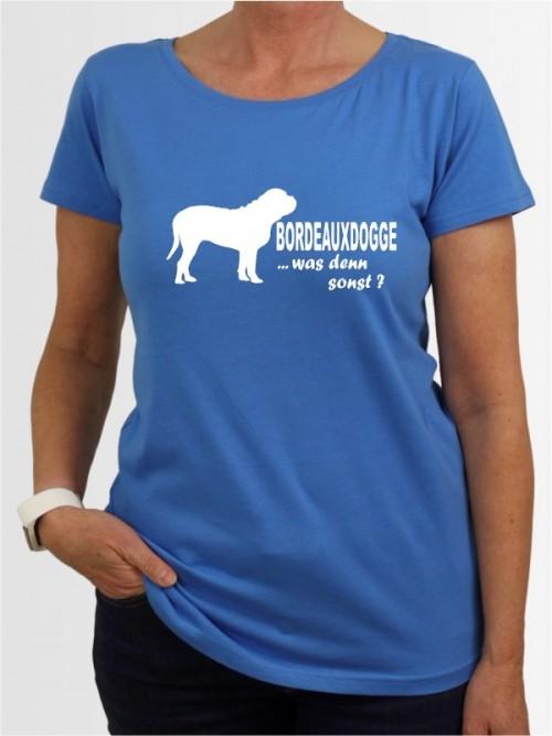 """Bordeauxdogge 7"" Damen T-Shirt"
