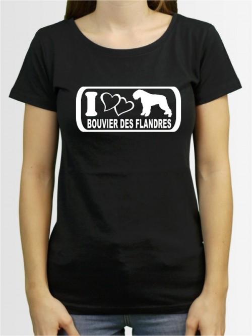 """""""Bouvier des Flandres 6"""" Damen T-Shirt"""