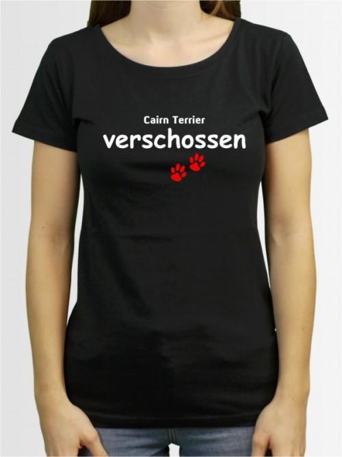 """""""Cairn Terrier verschossen"""" Damen T-Shirt"""