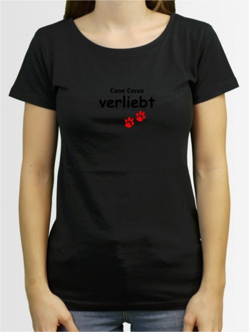 """""""Cane Corso verliebt"""" Damen T-Shirt"""