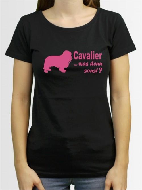 """Cavalier King Charles Spaniel 7"" Damen T-Shirt"