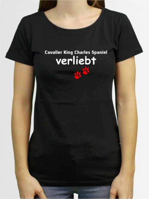 """Cavalier King Charles Spaniel verliebt"" Damen T-Shirt"