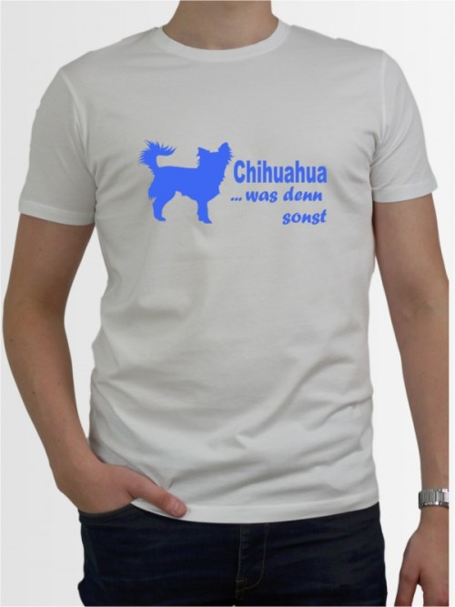 """""""Chihuahua 7"""" Herren T-Shirt"""