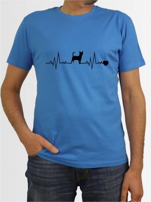 """""""Chihuahua Kurzhaar 41"""" Herren T-Shirt"""